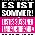 Flyer Narrenkistenrennen 2015